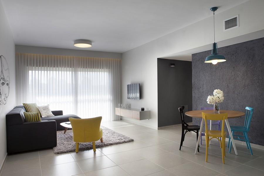 apartament minimalist in israel