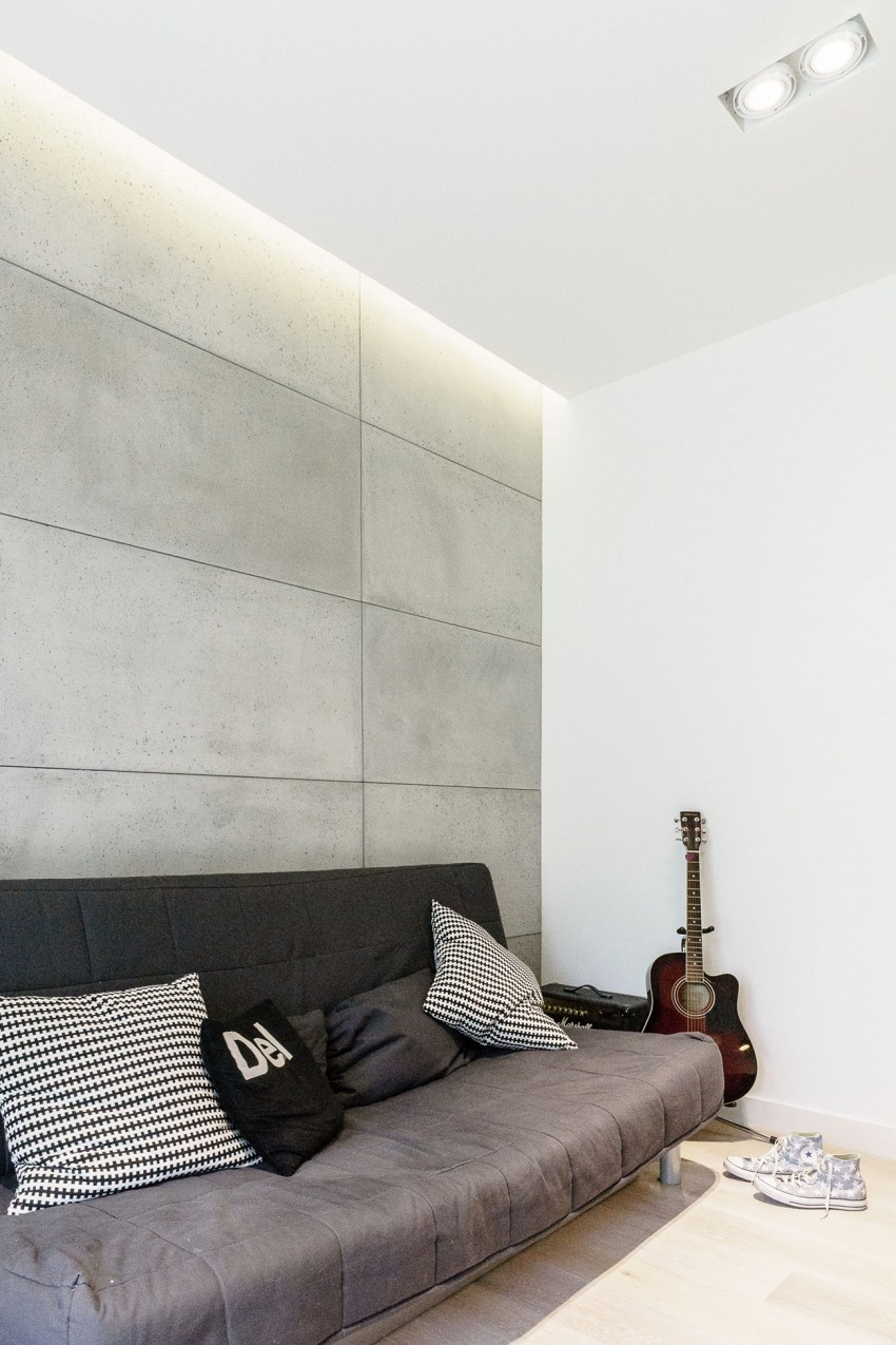 Amenajare interioara minimalista in Gdynia