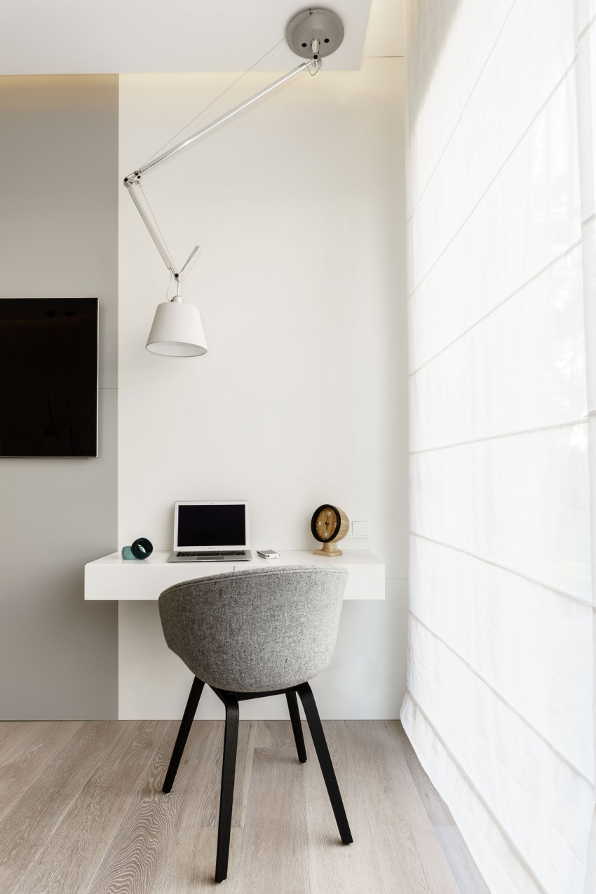 Arhitectura minimalista si contraste incantatoare