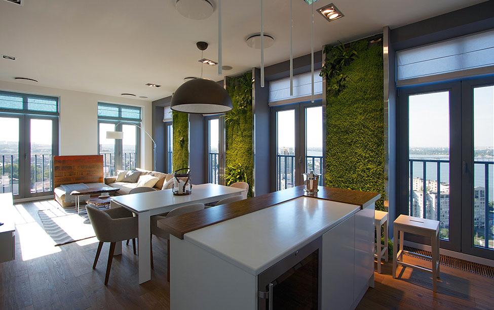 Apartament in Dnepr cu gradina verticala (26)