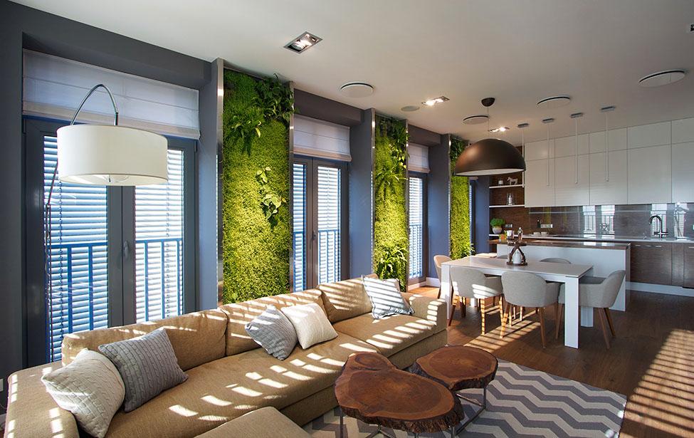 Apartament in Dnepr cu gradina verticala (28)
