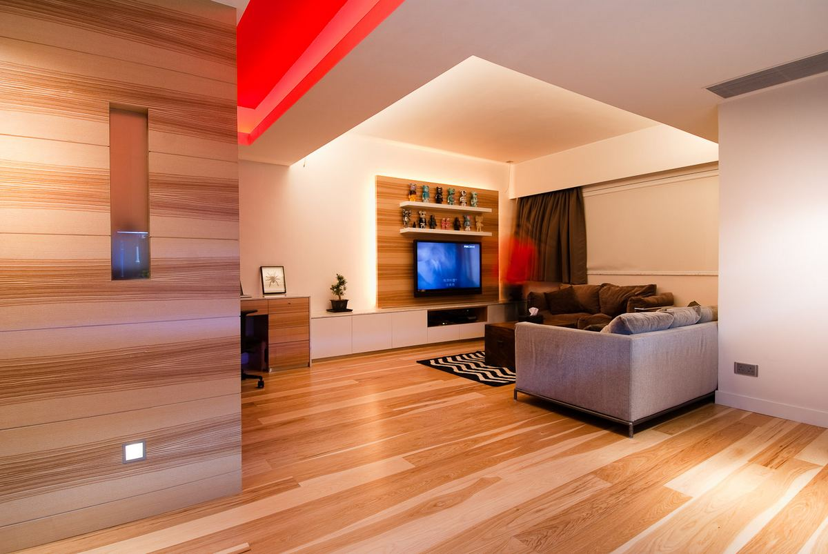 Arhitectura incantatoare in apartamentul din Hong Kong (1)