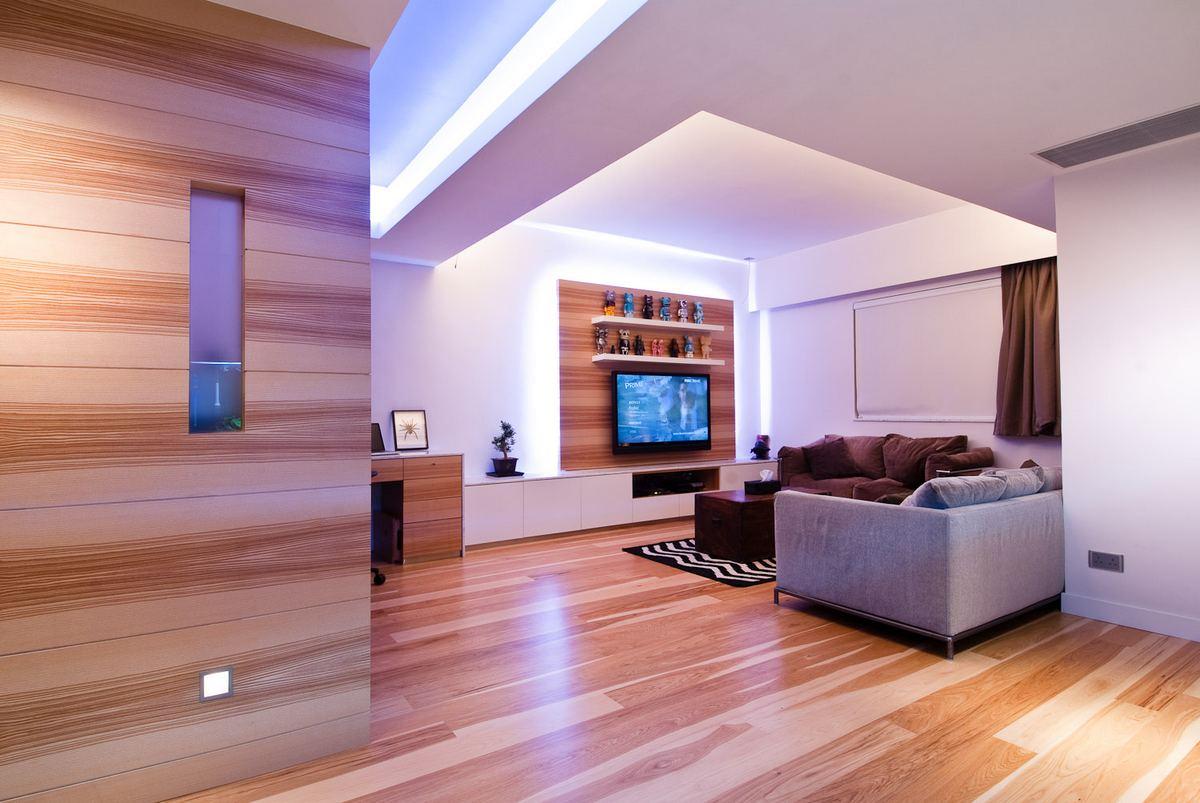 Arhitectura incantatoare in apartamentul din Hong Kong