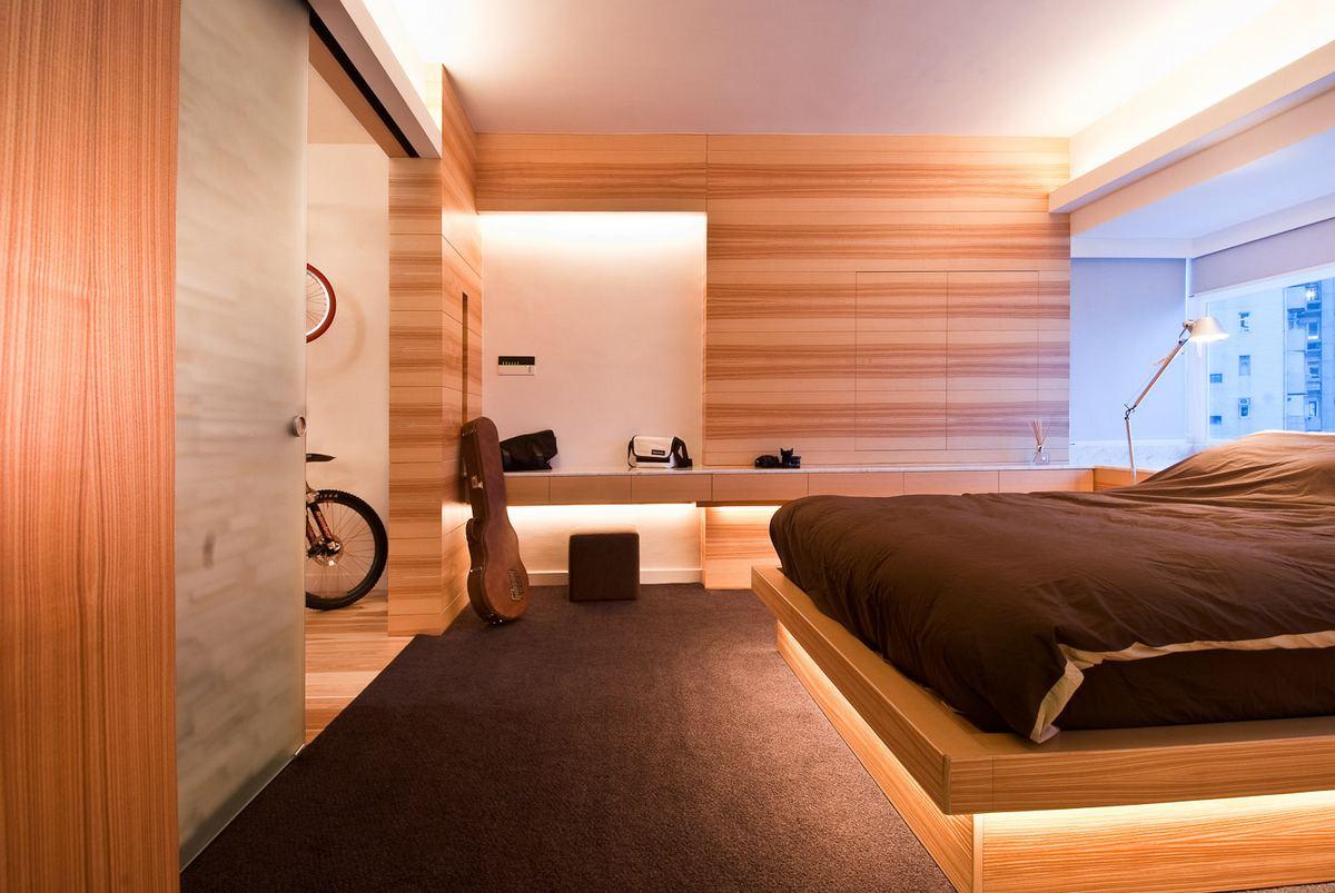 Arhitectura deosebita in apartamentul din Hong Kong