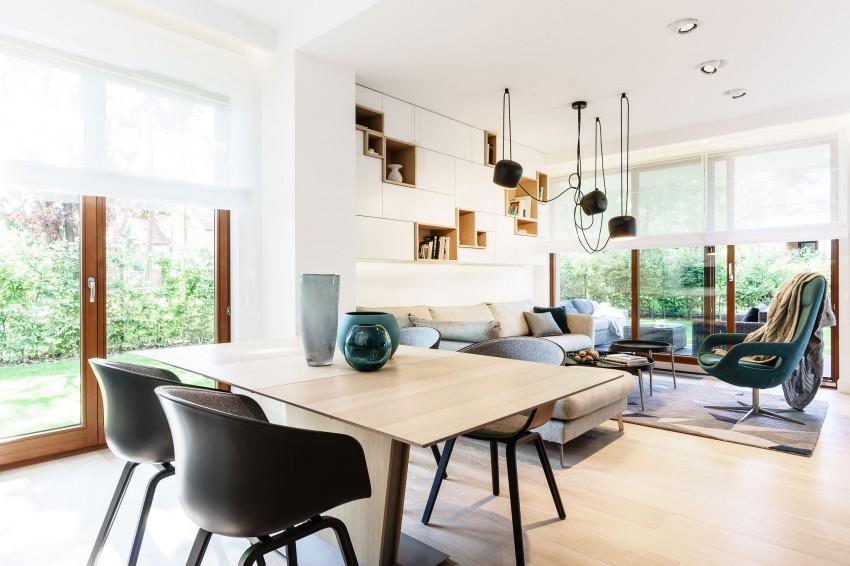 Arhitectura minimalista si contraste incantatoare in Polonia
