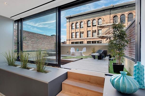 Duplex cu stil in New York