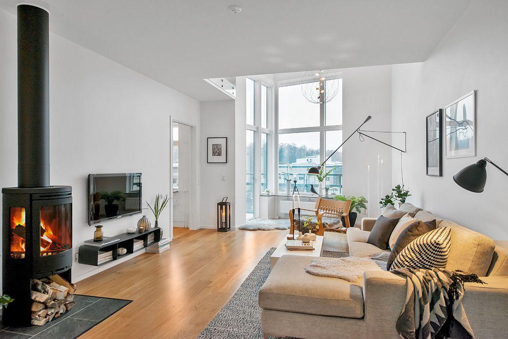 duplex modern scandinav
